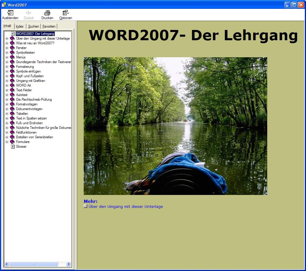 Word2007  Lehrgang